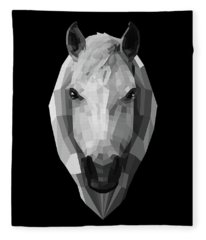 Night Horse Fleece Blanket