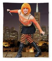 Night Of The Clockwork Orange Fleece Blanket