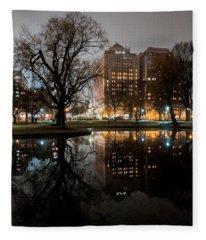 Night Reflection Fleece Blanket