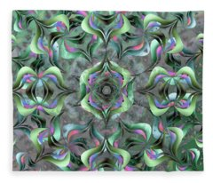 Nimb Difficult Remix One Fleece Blanket