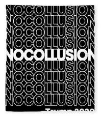No Collusion Trump 2020 Fleece Blanket