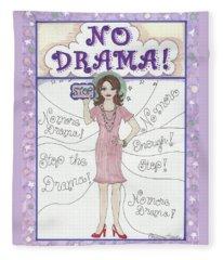 No Drama Fleece Blanket