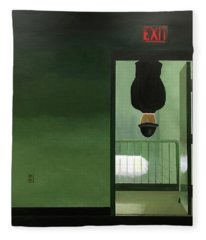 No Exit Fleece Blanket
