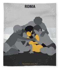 No1035 My Roma Minimal Movie Poster Fleece Blanket