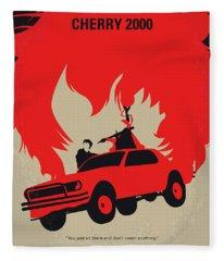 No1070 My Cherry 2000 Minimal Movie Poster Fleece Blanket