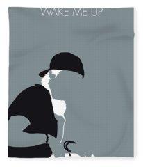 No217 My Avicii Minimal Music Poster Fleece Blanket