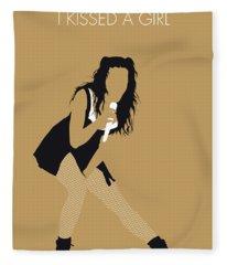 No254 My Katy Perry Minimal Music Poster Fleece Blanket