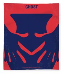 No971 My Ghost Minimal Movie Poster Fleece Blanket
