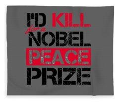 Nobel Prize Fleece Blanket