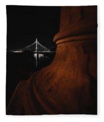 Noir Dallas Fleece Blanket