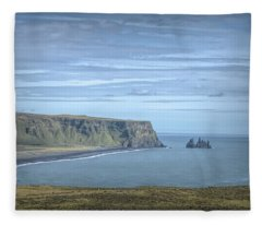 Nordic Landscape Fleece Blanket