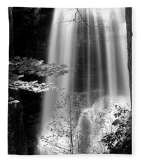 North Carolina Falls Fleece Blanket
