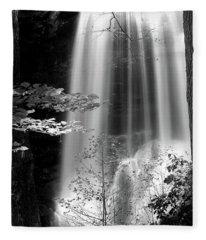 North Carolina Falls Fleece Blanket
