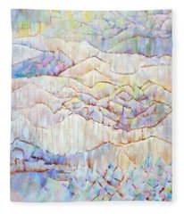 Northern Town Fleece Blanket