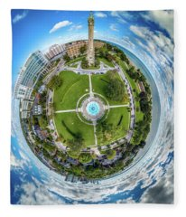 Northpoint Water Tower Little Planet Fleece Blanket