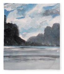 Norwegian Splendour Fleece Blanket