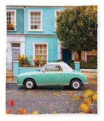 Notting Hill Vibes Fleece Blanket