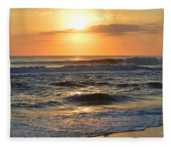 November 3, 2018 Sunrise Fleece Blanket