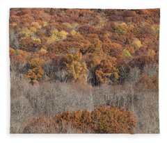 November Color - Fleece Blanket