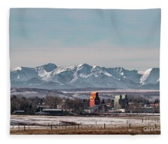 November Nanton Fleece Blanket