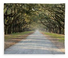Oak Avenue Fleece Blanket