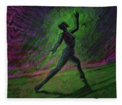 Obscured Dance Fleece Blanket