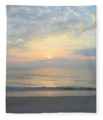 Obx Sunrise 2019 Fleece Blanket