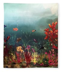 Ocean Beauty Fleece Blanket