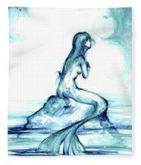 Ocean Watch Fleece Blanket