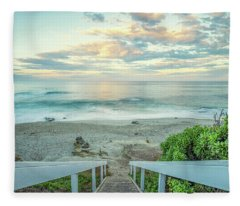 October 1 Windansea Fleece Blanket