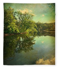 Odell Park View  Fleece Blanket