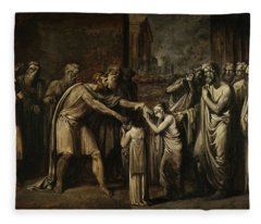 Oedipus At Colonus Fleece Blanket