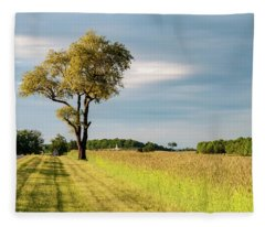 Off The Road Fleece Blanket