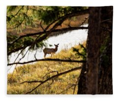 Oh Deer Fleece Blanket