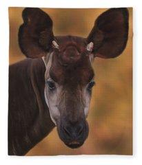 Okapi Fleece Blanket