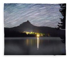 Olallie Star Trails Fleece Blanket