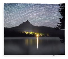 Olallie Star Trails Fleece Blanket