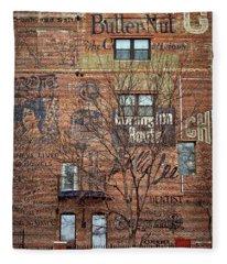 Old Market - Omaha - Metz Building - #1 Fleece Blanket