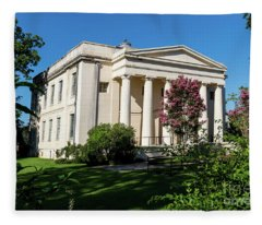 Old Medical College - Augusta Ga Fleece Blanket