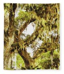 Old Mossy Oaks Fleece Blanket