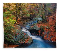 Old River Fleece Blanket