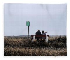 Old Together Fleece Blanket