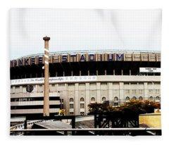 Old Yankee Stadium Fleece Blanket