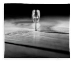 On A Knife Edge Fleece Blanket