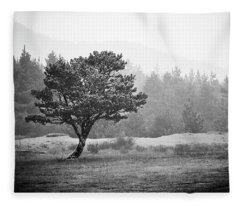 Fleece Blanket featuring the photograph On My Own by Whitney Goodey