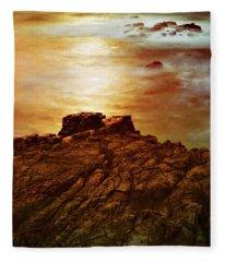 On The Edge Fleece Blanket