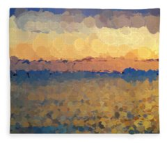 On The Horizon Fleece Blanket