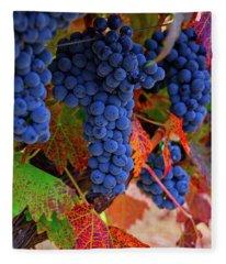 On The Vine II Fleece Blanket