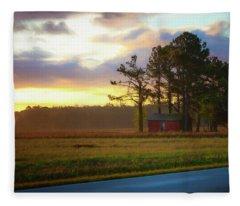 Onc Open Road Sunrise Fleece Blanket