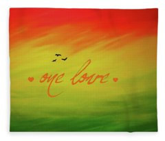 One Love Fleece Blanket